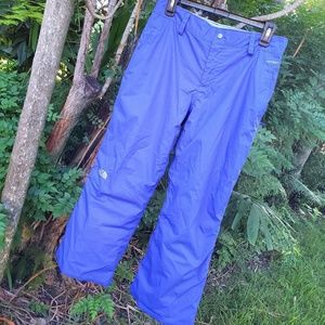 Girls the North face Hyvent Ski Pants